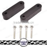 Aluminum Hood Risers Spacer Fit For civi EF EG EK With Steel Bolts Red/Blue/Black/Gold/Silver/Purple/Green