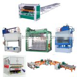 HSP Cold Press Machine /Plywood Hydraulic Hot Press Machine/ Panel moulding complete line for plywood production line