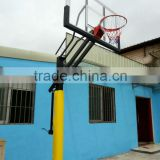 Portable NBA Basketball Stand Size With Pole