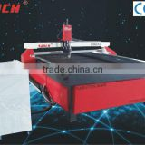 cnc plasma metal cutter /China plasma power source/DSP controller/Taiwan square rails/water jet system