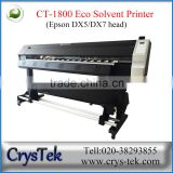 digital printing machine with negative pressure continuous ink supply system from CRYSTEK CT-1800