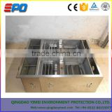 No power type the oil water separator for waste water treatment/ hotel/kitchen grease trap