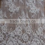 2016 New arrived Fancy cotton french embroidery lace fabric for dress/Swiss lace and French lace