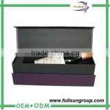High end handmade promotion champagne glass gift box
