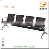 Commercial furniture barber shop waiting chairs with 4-seat