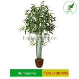 Artificial Bamboo plant with gold silk bamboo branches