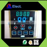 touch screen negative transmissive blue STN air purifier lcd display,air cleaner lcd screen