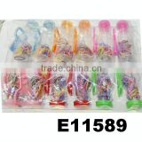 cute babys mini hair elastic colour rubber band packed in bottle