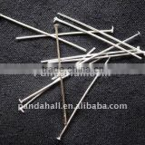 Alloy Metal Silver-color Jewellery Head Pins(HPS3.5cm)