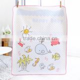 Organic napkin cotton fabric baby wash cloth diaper towel wholesale