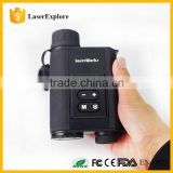 6X32 monocular laser rangefinder Digital Night vision with compass night vision scope IR telescope