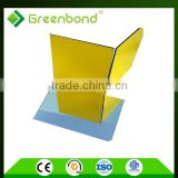 Greenbond curtain wall construction building materials aluminum composite panels acm sheet