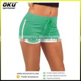 sport tight summer hot shorts OEM women sexy booty mesh fitness shorts, womens running shorts