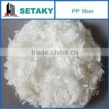 PP Fiber (Polypropylene fiber) for wall putty (skim coat)-construction use- SETAKY--XINDADI GROUP