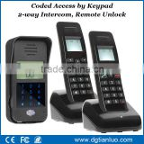 2.4G Digital Battery Operated 2-way Audio Wireless Doorbell Waterproof Intercom System