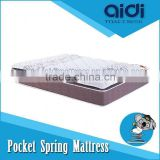 Elegant Design 50 Density Foam Pocket Spring Adult Full Size Bed Mattress AL-1109