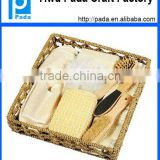 Fashion Wooden Basket SPA Accessories Set