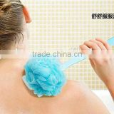 Best selling Colorful Long handle shower back brush /plastic long handle bath brush/plastic massage bath brush/