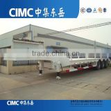 CIMC 70 ton Tri-axle Low Bed Trailer on sale