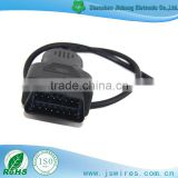 Automobile application OBD to Open Cable OBD2 Extension Cable Male Cable Car Cable