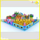 Happy inflatable kids island bouncer maze animal climb mountain combo Giant inflatable bouncer