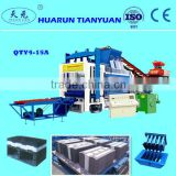 eps raw material cement concrete hollow block machine -Tianyuan brand