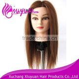 Unprocessed wholesale price highlight black training mannequin head