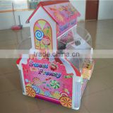 TWO claws Mini cabinet candy claw crane machine for sale carousel music box vending machine