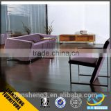 Liansheng Good appearance living room sofa leather/fabric leisure sofa 1+1+3 set with metal legs