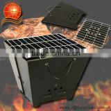 BBQ Assembly Hand Bag Style Foldable Folding BBQ Grill, Box Shape Carton Shape Charcoal Grill, Easy to take any where, BBQG-001