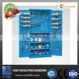 storage organizers lockers for tools with hanging tool plastic box