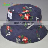 High Quality Printed Fishermen Hat Custom Bucket Hat Camping Fishing Cap BONNIE HATS with Woven Label