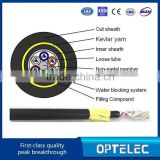 ADSS All-Dielectric kevlar yarn armor Outdoor ADSS fiber optical cable / ADSS Fiber Optic Cable