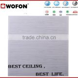 Project Use decorative drop ceiling tiles clip in ceiling,quality factory price aluminium fireproof board for ceiling