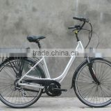 high quality lithium battery bicycle 700cc with bafang central motor 36V 250W for eurpean market