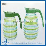 2016 wholesale colored glass water jugs