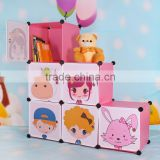 High Quality Kids Plastic Bookshelf