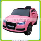 hot sale battery operated ride on toy suv car with EVA/Air wheels,pink color