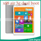 "Teclast X98 Air 3G Dual Boot Intel Quad Core 2.16GHz android 4.4 Tablet PC 9.7""Retina 2048x1536 Screen 2GB RAM 32GB ROM"