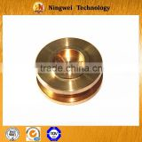 Copper cnc precision machining textile machinery parts ,cnc vertical machining center services
