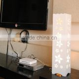 Carved Decorative LED Lamp small size pure white lamp light