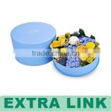 cup cake box and pizza box and dry food packing box with flower
