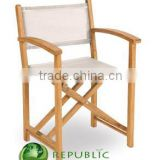 Manager Chair Batyline - Reclaimed Teak Garden Wood Furniture