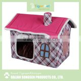 China high quality new arrival latest design pet product cardboard pet house for cat