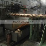 horizontal continuous casting Induction Metal Melting electrical Furnace for bronze brass copper