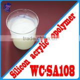 WC-SA108 Silicon Acrylic Polymer Emulsion