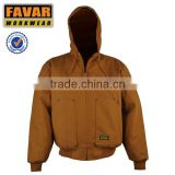 Usa Jacket for Mens Hooded Quilted Great Quality Tarten Lined warm cotton parka coat jacket