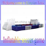 2013 Inflatable soccer sport game for entertainment