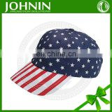 Hot sale printing pattern american flag hat