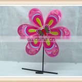 plastic toy windmills stick for kids, garden windmill toy